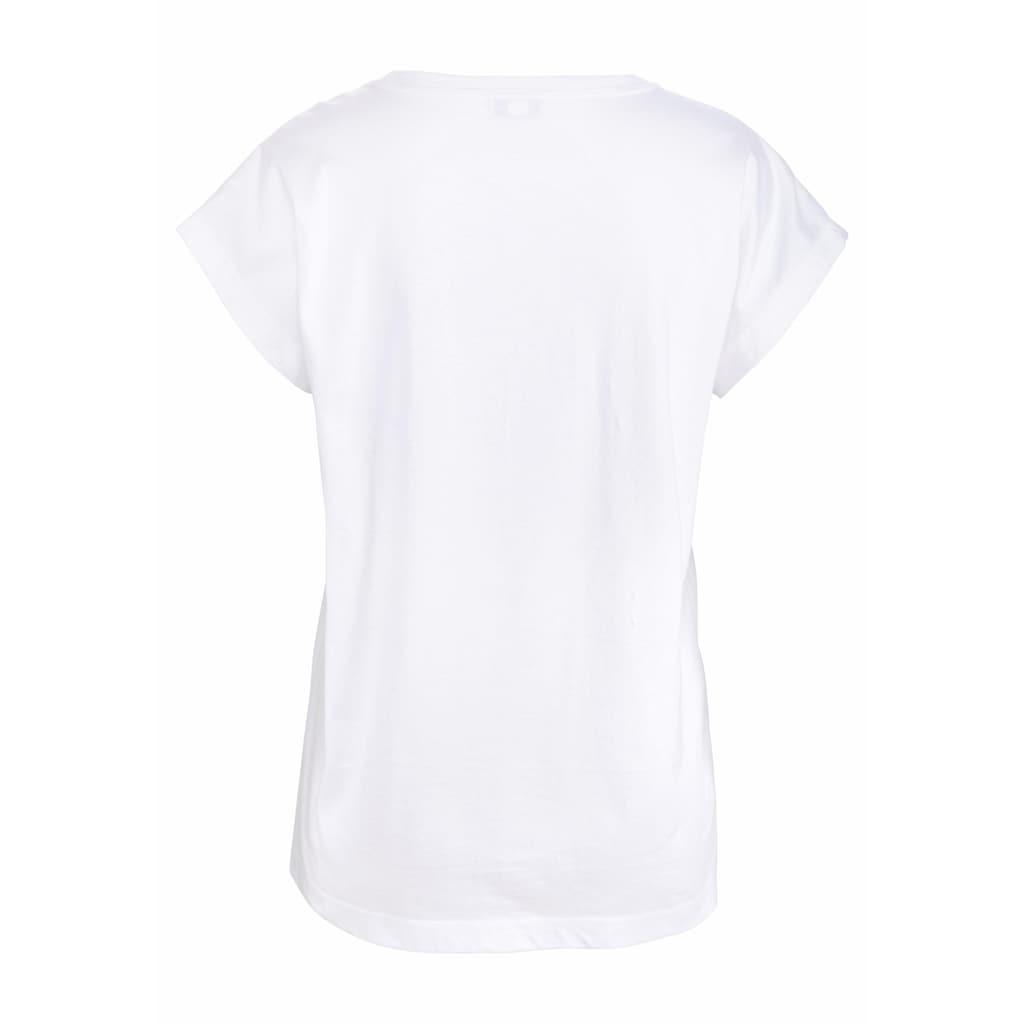 Vivance Dreams T-Shirt, mit Schriftzug
