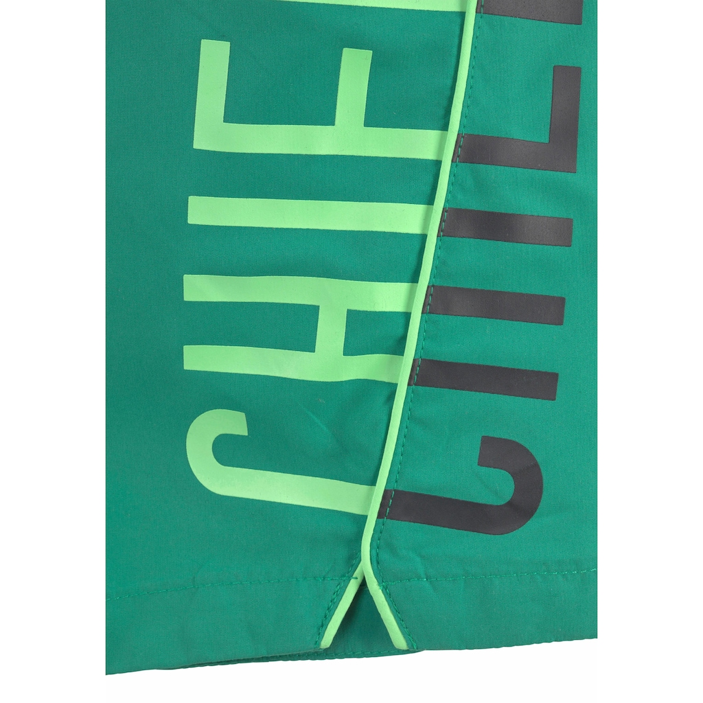 Chiemsee Badeshorts, mit großem Logo-Aufdruck