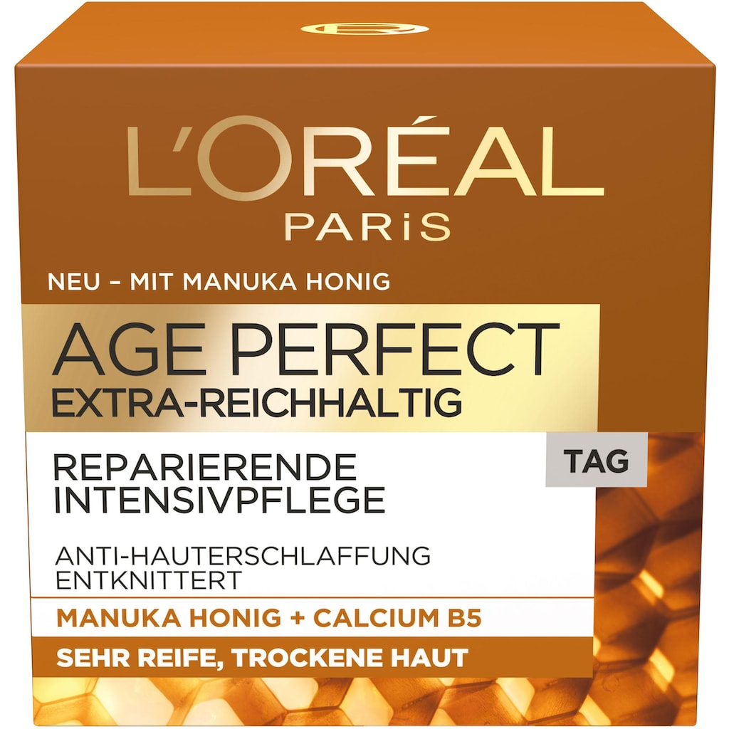 L'ORÉAL PARIS Tagescreme »Age Perfect Extra-Reichhaltig«, mit Manuka Honig