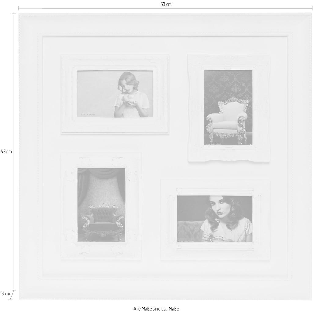 Myflair Möbel & Accessoires Bilderrahmen »Bjelle«, Family, weiß