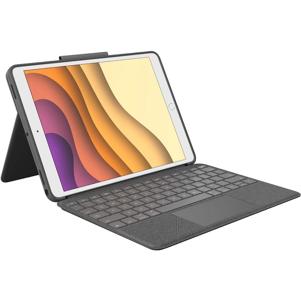 Logitech iPad-Tastatur »Combo Touch«, (Touchpad)