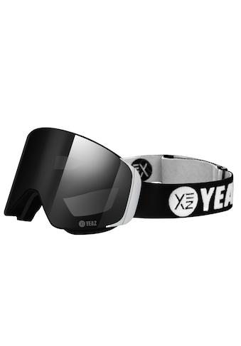 YEAZ Skibrille »APEX«, mit Magnet-Wechsel-System für Gläser, schwarz/silber kaufen