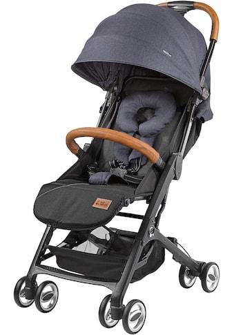 Gesslein Kinder-Buggy »Babies Smiloo Cuby, blau-meliert«, mit Frontbügel kaufen