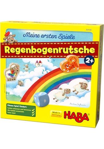 Haba Spiel »Meine ersten Spiele - Regenbogenrutsche«, Made in Germany kaufen