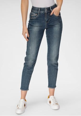 Herrlicher High-waist-Jeans »GILA HI CONIC RECYCLED DENIM«, umweltfreundlich dank dem... kaufen