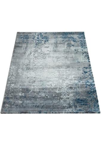 Paco Home Teppich »Victory 608«, rechteckig, 16 mm Höhe, Kurzflor, Wohnzimmer kaufen