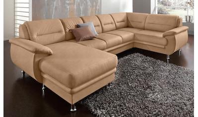 sit&more Wohnlandschaft, wahlweise mit Bettfunktion, frei im Raum stellbar kaufen
