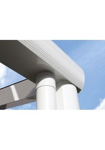 SKANHOLZ Terrassendach »Modena«, Breite: 434 cm, weiß kaufen