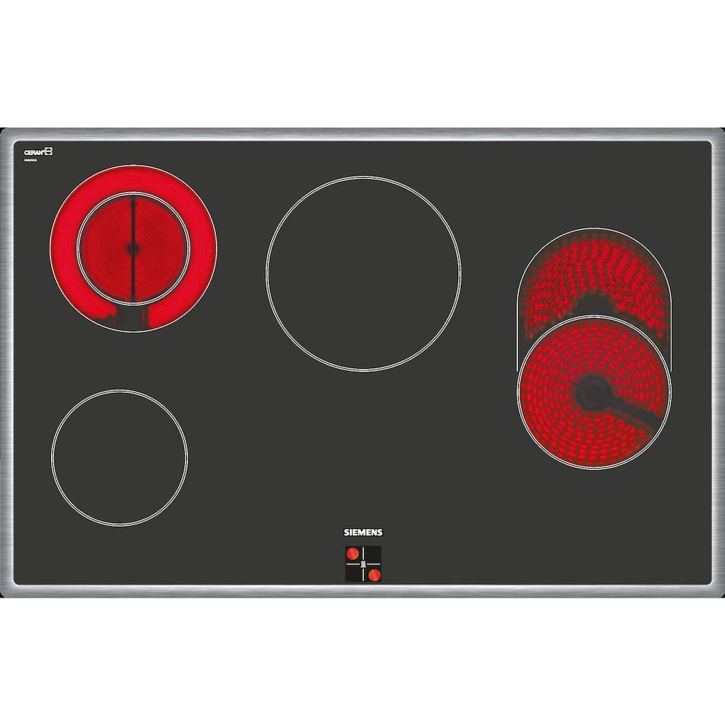 SIEMENS Elektro-Herd-Set »PQ523KB00«, HE578BBS0, Pyrolyse-Selbstreinigung, (Set)
