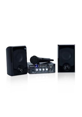 Auna Karaoke-Set, 2 x 50 W max., BT, USB/SD, Line-In kaufen