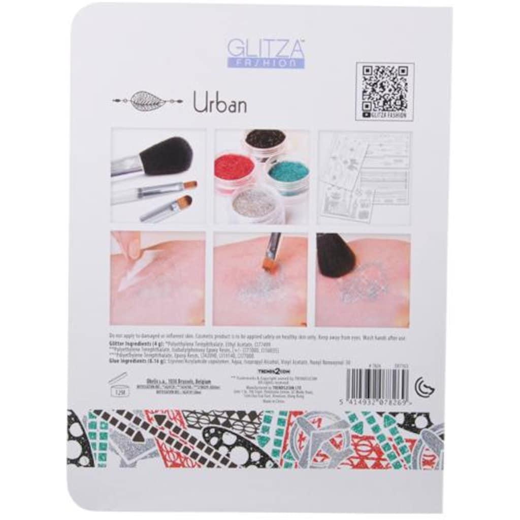 Knorrtoys® Kreativset »GLITZA FASHION Deluxe Set Urban«, (Set), Für alle Oberflächen geeignet