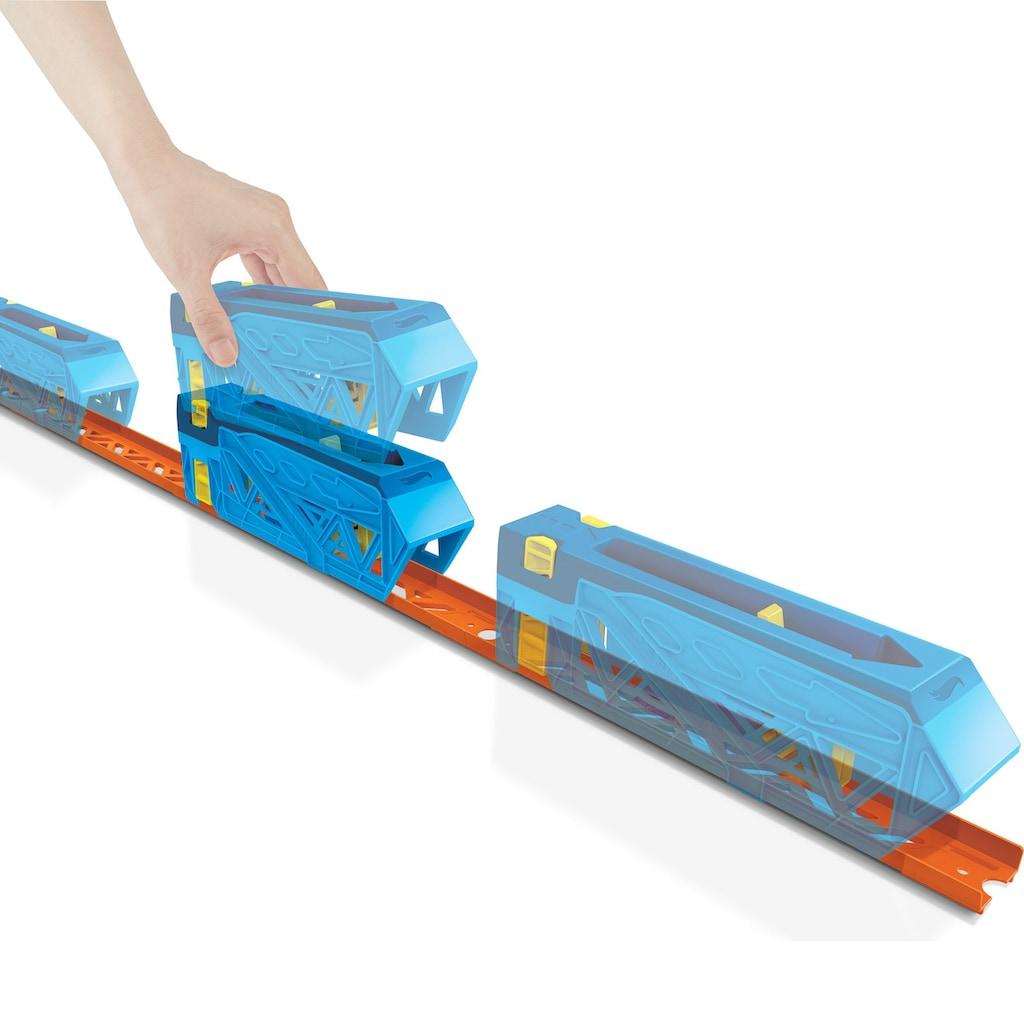 Hot Wheels Autorennbahn »Track Builder Unlimited Inline Kicker«, inklusive ein Hot Wheels Fahrzeug