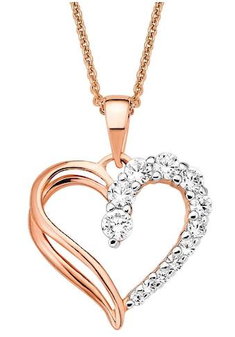 Amor Herzkette, mit Zirkonia kaufen