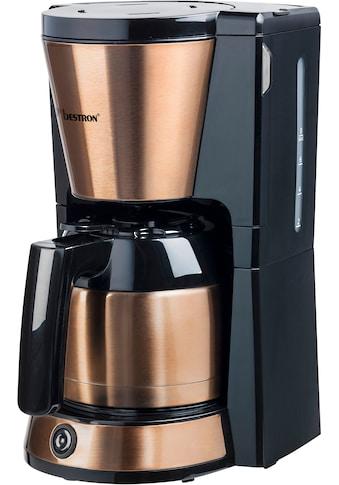 bestron Filterkaffeemaschine »ACM1000CO«, Papierfilter, 1x4, mit Thermokanne, 8... kaufen