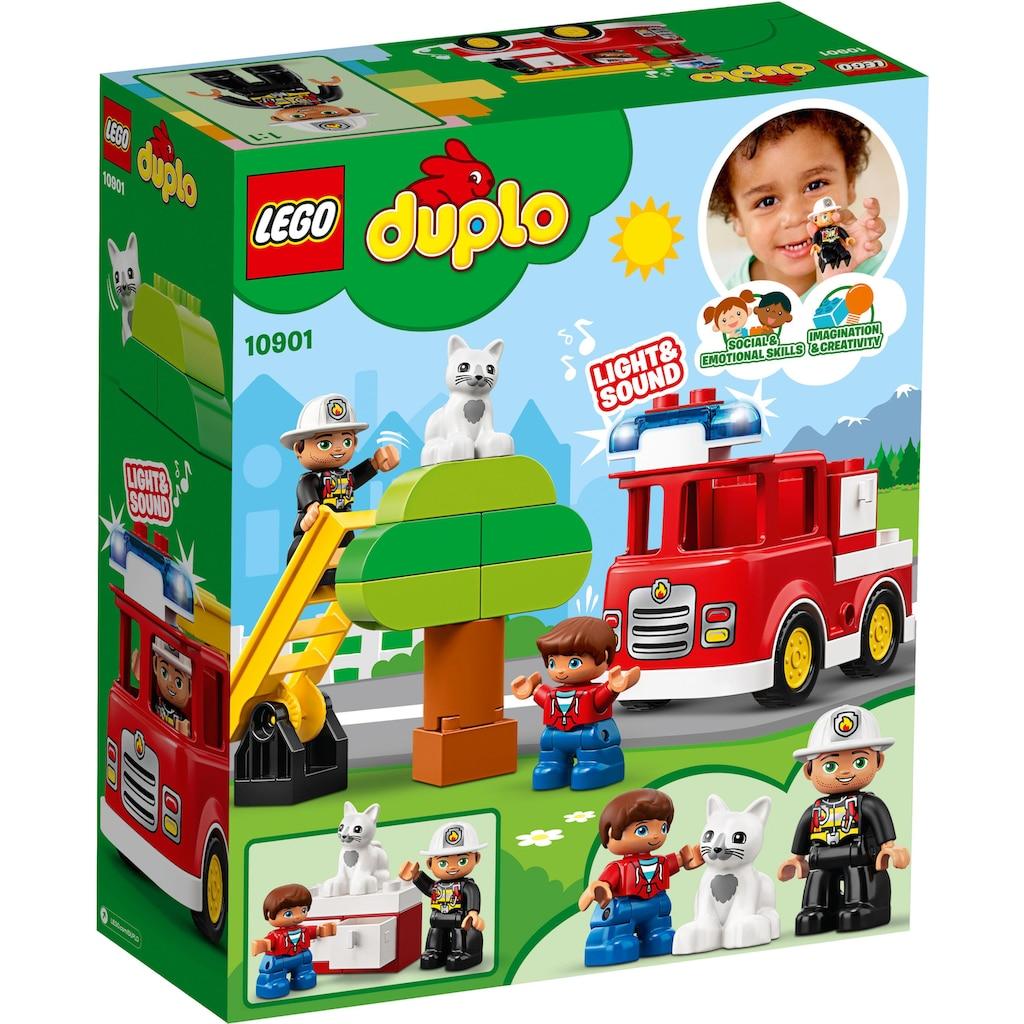 LEGO® Konstruktions-Spielset »Feuerwehrauto (10901), LEGO® DUPLO™«, (21 St.)