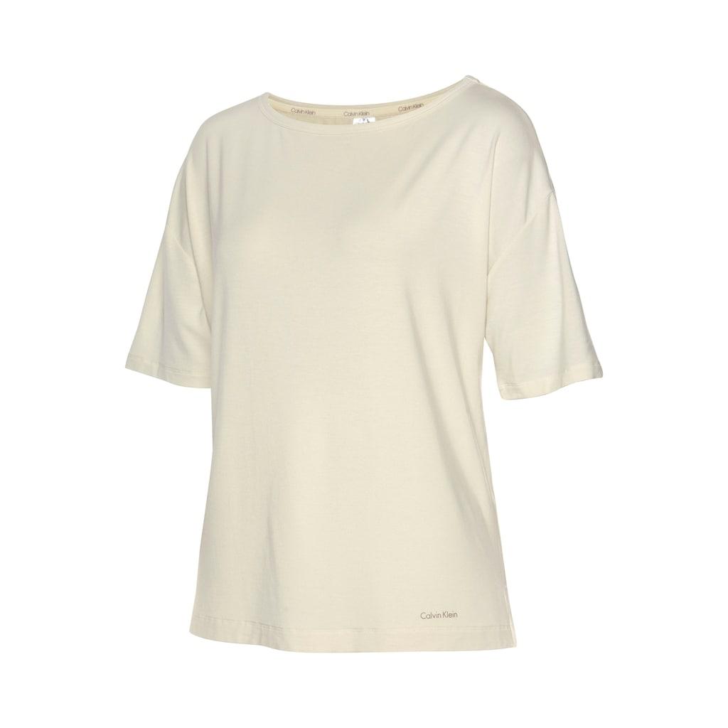 Calvin Klein T-Shirt, mit überschnittenen Schultern