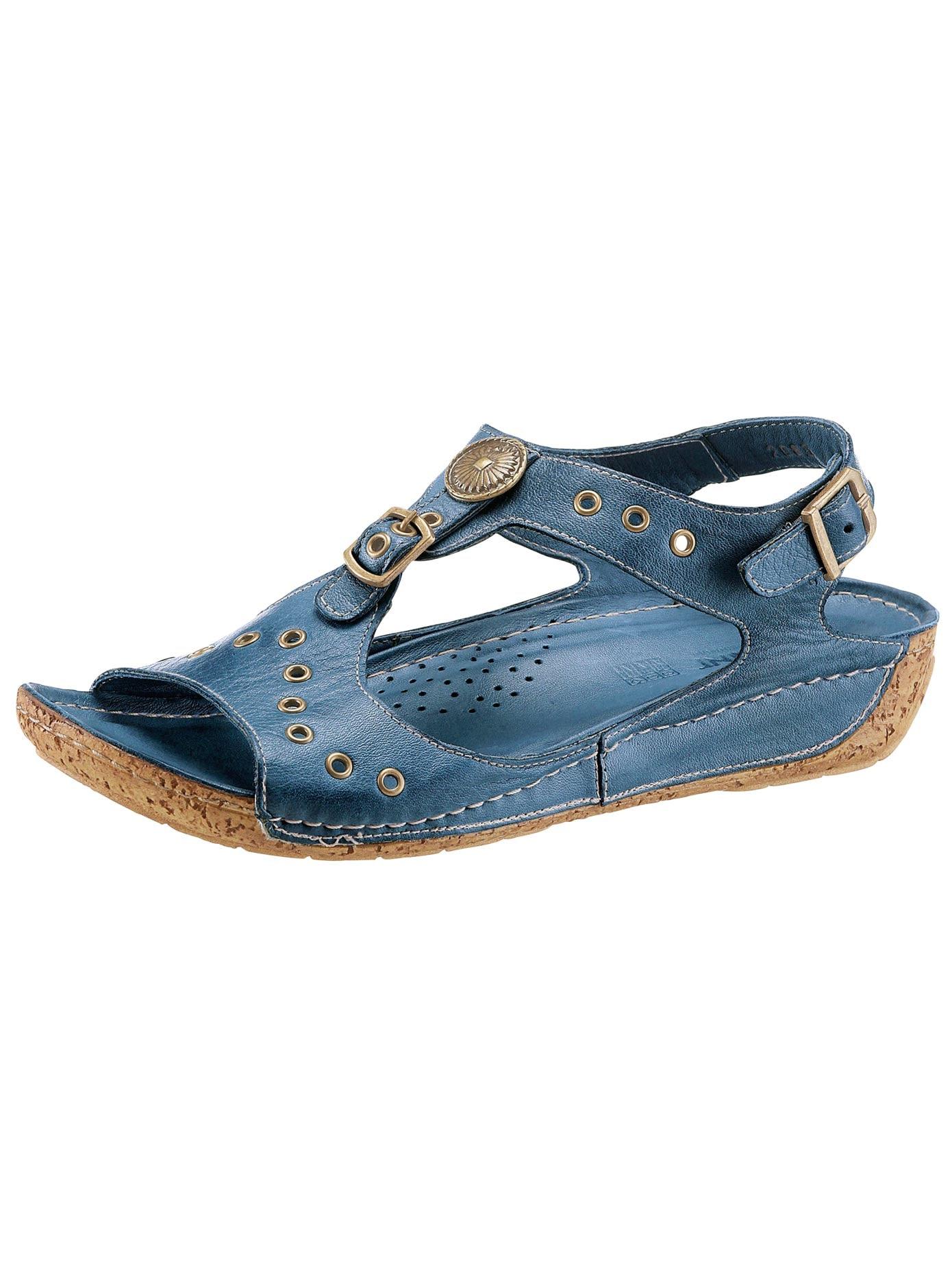 Gemini Sandalette mit Ziernieten und Zierknöpfen Gutes  online kaufen   Gutes Zierknöpfen Preis-Leistungs-Verhältnis, es lohnt sich a72cb8