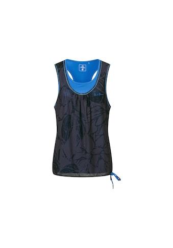 DEPROC Active Strandshirt »ROXANNE WOMEN«, in Double-Layer-Optik kaufen