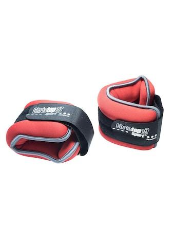 Christopeit Sport® Gewichtsmanschette »Gewichtsmanschette 2 x 2,0 kg«, 4 kg, (Set, 2 tlg.) kaufen