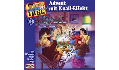 Musik - CD 165/Advent Mit Knall - Effekt / TKKG, (1 CD) kaufen