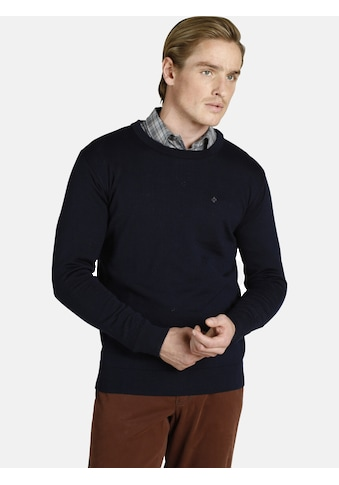 Charles Colby Rundhalspullover »DUKE MASON«, Wollpullover mit Merinowolle kaufen