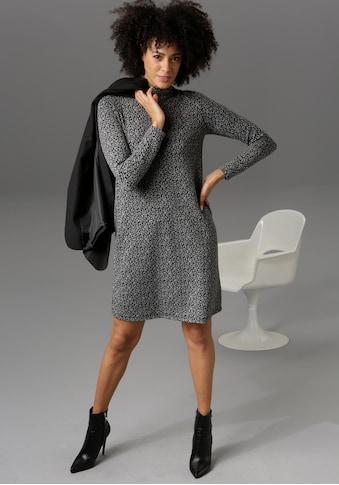 Aniston CASUAL Jerseykleid, mit Reißverschluss im Rücken - NEUE KOLLEKTION kaufen