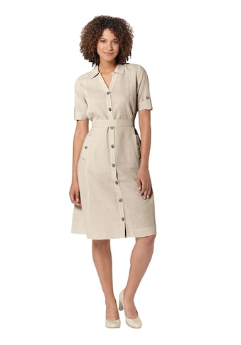 Casual Looks Kleid in hautsympathischer Leinenmix - Qualität kaufen