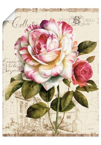Artland Wandbild »Garten Blick III«, Blumen, (1 St.), in vielen Größen & Produktarten... kaufen