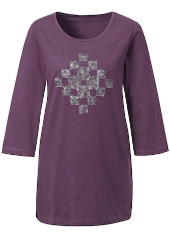 Longshirt aus reiner Baumwolle kaufen