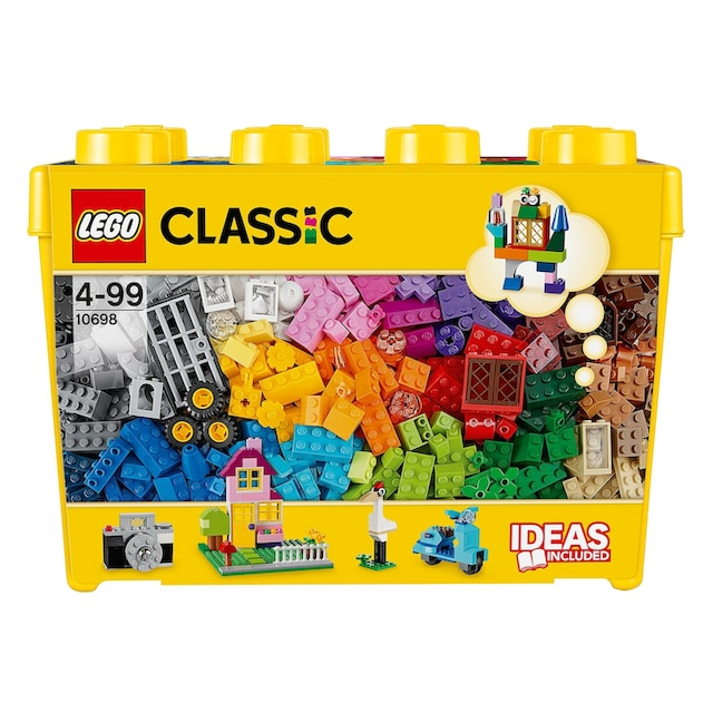 """LEGO® Konstruktionsspielsteine """"Große Steine-Box (10698), LEGO® Classic"""", Kunststoff, (790-tlg.)"""