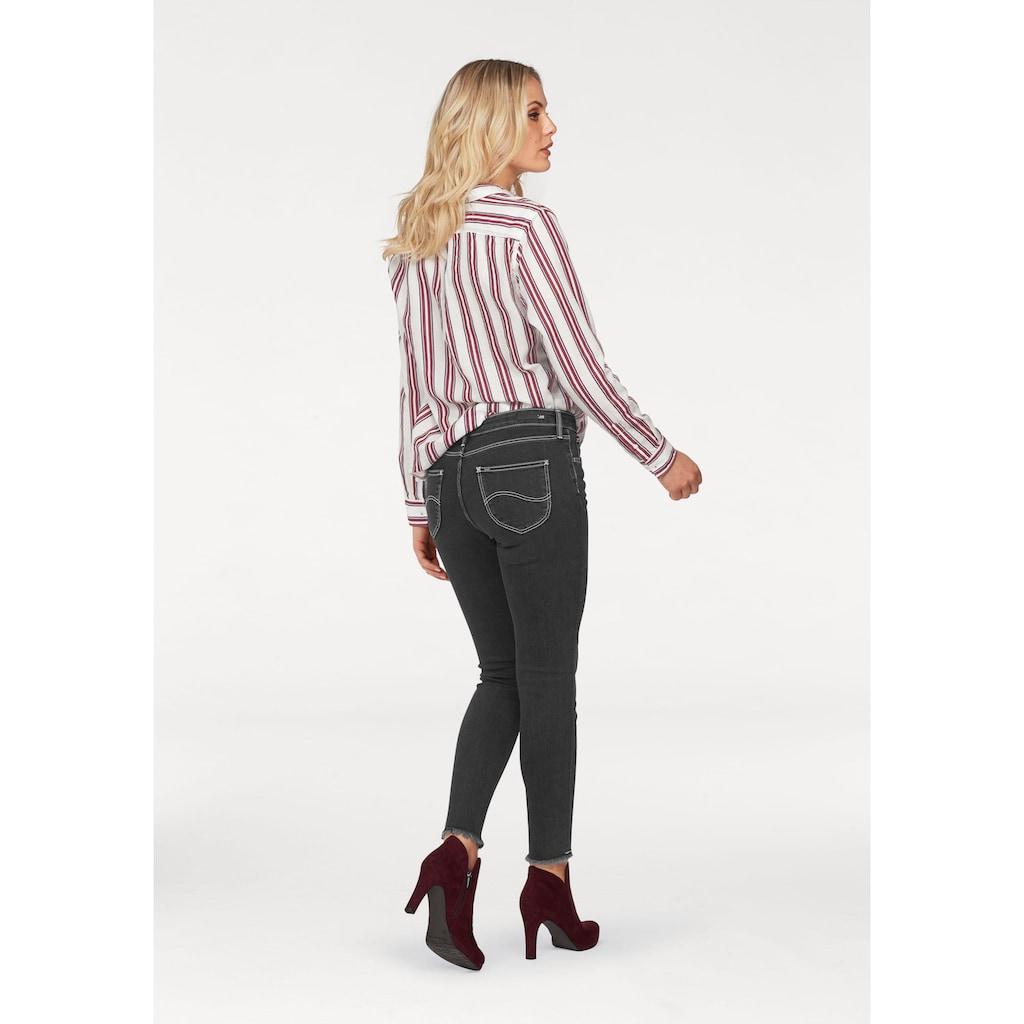 Lee® Destroyed-Jeans, mit Fransen am Saum