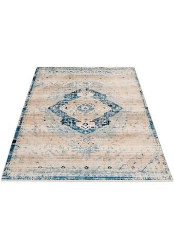 Home affaire Teppich »Marina«, rechteckig, 5 mm Höhe, Wohnzimmer kaufen