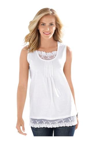 Classic Basics Shirttop mit Biesen im Vorderteil kaufen
