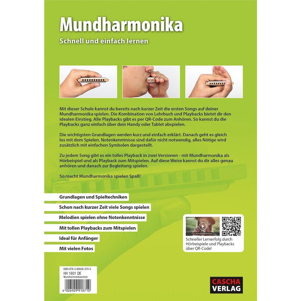 Cascha Mundharmonika-Set »Master Edition Blues Harmonica«, inkl. Lernbuch