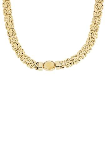 Firetti Goldkette »Königskettengliederung, glänzend, flach, beidseitig bombiert,... kaufen