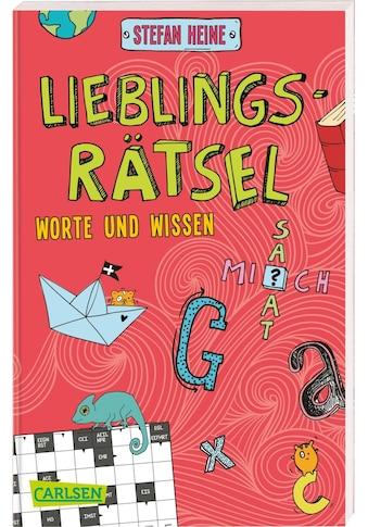 Buch »Lieblingsrätsel - Wörter und Wissen, ab 8 Jahren (Kreuzworträtsel,... kaufen