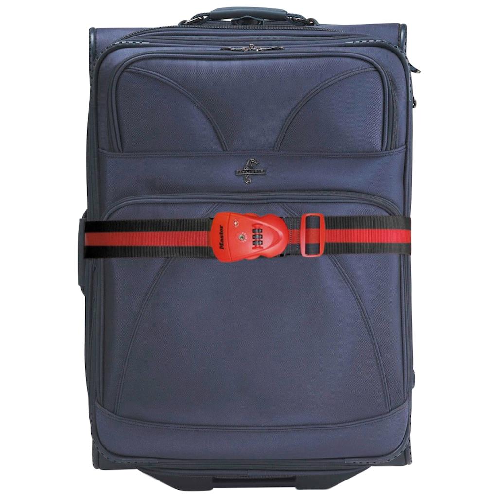 MASTER LOCK Koffergurt mit Zahlenschloss, 2 m