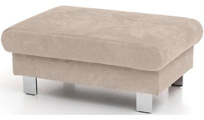 COTTA Hocker »Komaris«, moderner chromfarbener Fuß kaufen