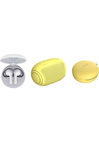 LG In-Ear-Kopfhörer »FN4  Macaron Jellybean Hardbundle«, Bluetooth,... kaufen
