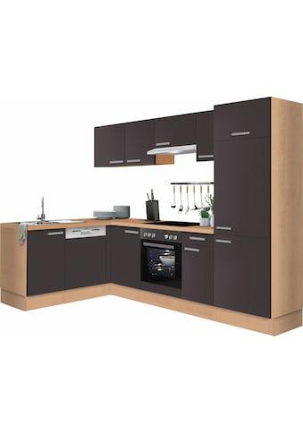 OPTIFIT Winkelküche »Odense«, ohne E-Geräte, Stellbreite 275 x 175 cm, mit 28 mm... kaufen