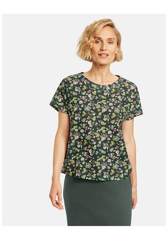 GERRY WEBER Klassische Bluse »Blusenshirt mit Streublümchen« kaufen