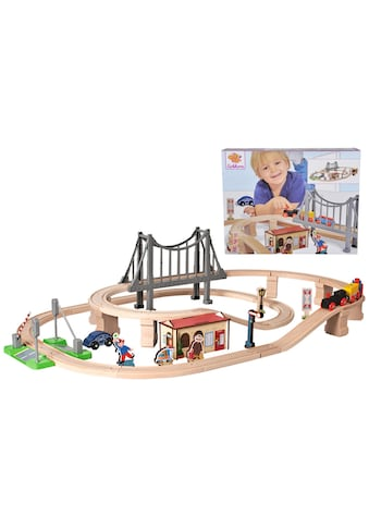 "Eichhorn Spielzeug - Eisenbahn ""Bahnset mit Brücke, 54 - tlg."" (Set, 54 - tlg.) kaufen"