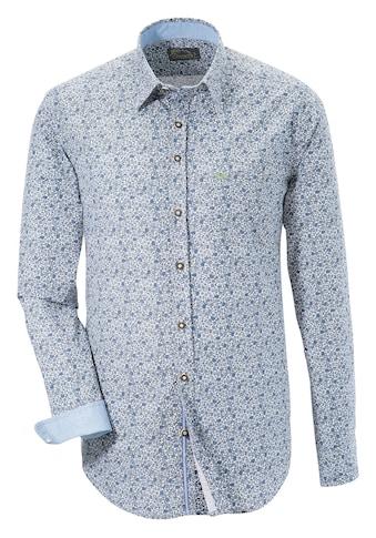 Murk Trachtenhemd, im modischen Blumenprint kaufen