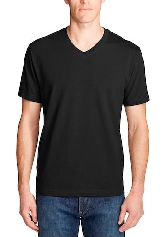 Eddie Bauer T-Shirt, Legend Wash Pro - Kurzarm mit V-Ausschnitt kaufen