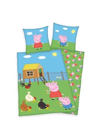 Peppa Pig Kinderbettwäsche »Peppa Pig, Baumwoll-Renforcé« kaufen
