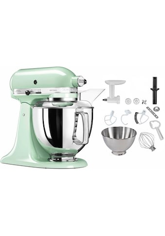KitchenAid Küchenmaschine »5KSM175PSEPT Artisan«, inkl. Sonderzubehör im Wert von ca.... kaufen