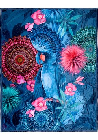 hip Plaid »Ofelia«, mit Mandalas und Blumen kaufen