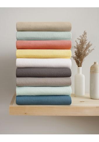 OTTO products Spannbettlaken »Neele«, aus zertifizierter Bio-Baumwolle kaufen