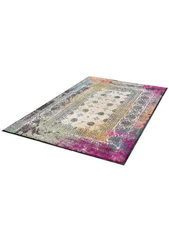 wash+dry by Kleen-Tex Teppich »Taza«, rechteckig, 7 mm Höhe, Wohnzimmer kaufen
