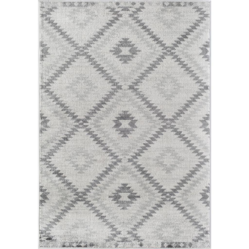 CosmoLiving by Cosmopolitan Teppich »Bodrum Kilim«, rechteckig, 8 mm Höhe, Kelim Optik, Wohnzimmer